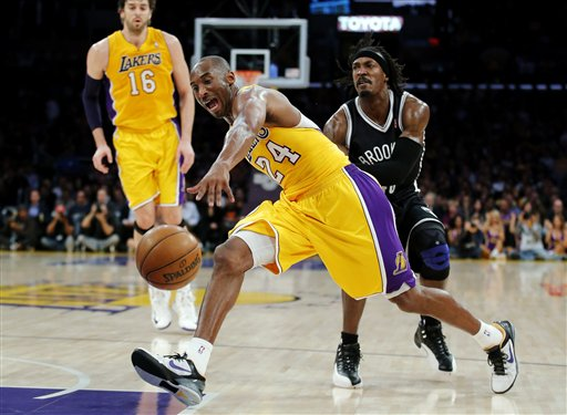 Kobe Bryant, Gerald Wallace