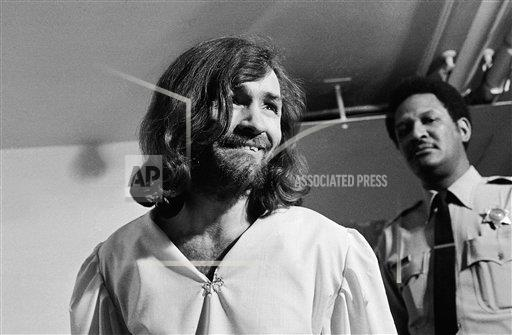 Watchf Associated Press Domestic News  California United States APHS213381 Charles Manson Trial 1970