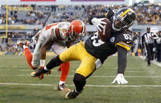 APTOPIX Browns Steelers Football