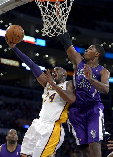 Kobe Bryant, Jason Thompson
