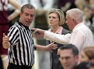 Referee DeMayo Retires Basketball