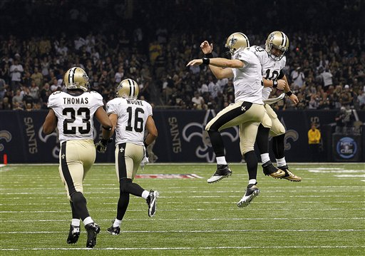 Chase Daniel, Drew Brees