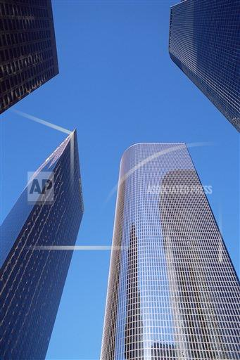 Creative AP T   United States of America 753-160 Office buildings in downtown business district, Los Angeles, California, United States of America, North America