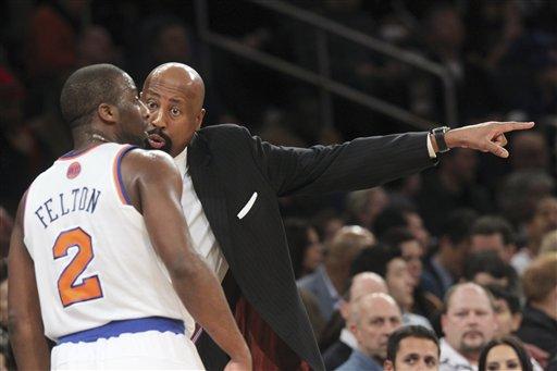 Mike Woodson, Raymond Felton