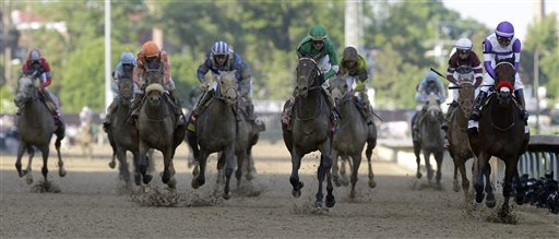 CORRECTION Kentucky Derby Horse Racing