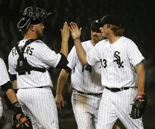 Addison Reed, Tyler Flowers, Paul Konerko