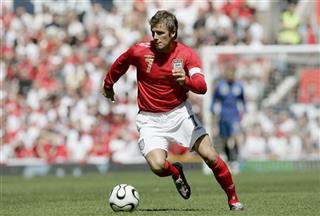 England&#039;s David Beckham