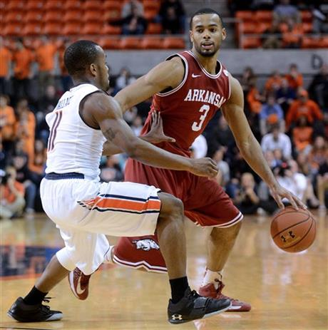 Arkansas Auburn Basketball