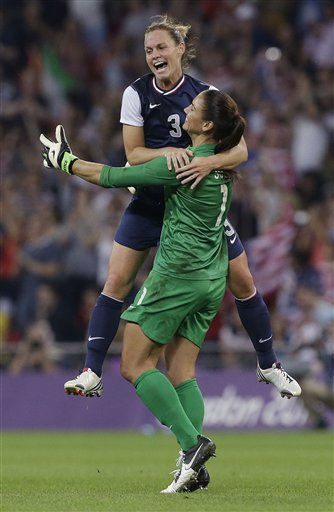 Hope Solo, Christie Rampone
