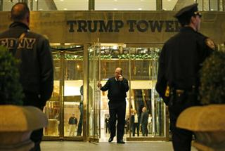 APTOPIX Trump Tower Suspicious Powder