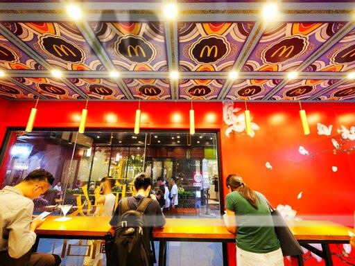 CHINA GUANGDONG GUANGZHOU MCDONALD PALACE MUSEUM POP-UP STORE