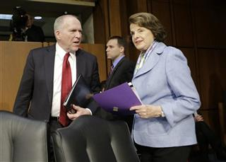 John Brennan, Dianne Feinstein