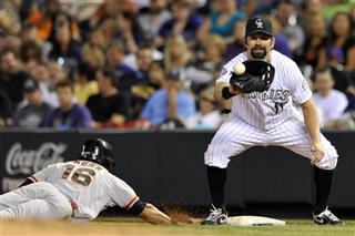 Angel Pagan, Todd Helton