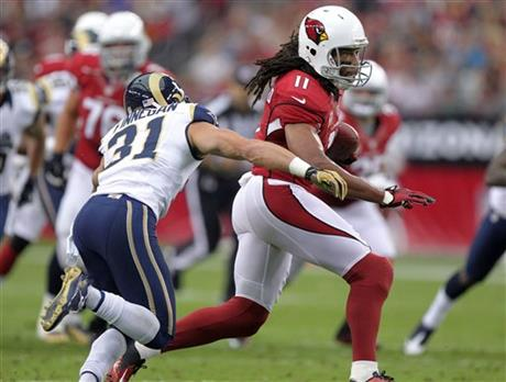 Larry Fitzgerald, Cortland Finnegan