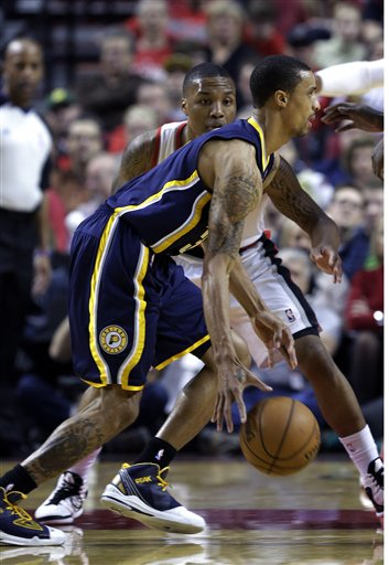 George Hill, Damian Lillard