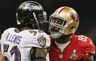 Ray Lewis, Vernon Davis