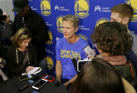 Warriors GM Myers confident Kerr will return to full health