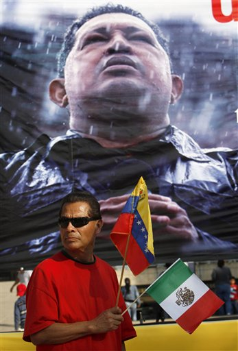 Mexico Venezuela Chavez