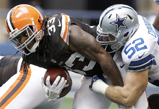 Trent Richardson, Dan Connor