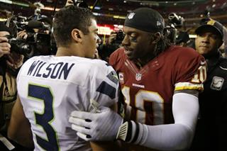 Robert Griffin III, Russell Wilson