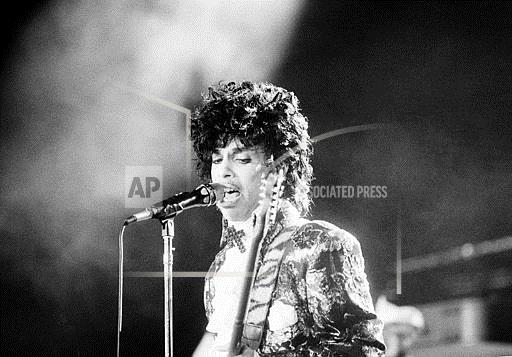 Associated Press Domestic News United States Entertainment PRINCE