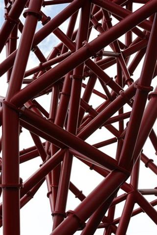 Britain Olympics ArcelorMittal Orbit Sculpture Unveiling