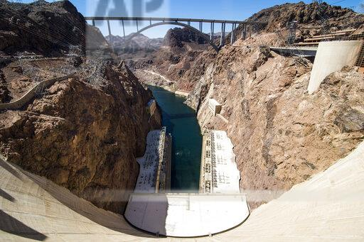 USA, Nevada, Hoover Dam