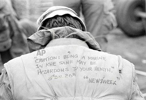 Associated Press International News Vietnam VIETNAM WAR U.S. MARINE QUOTE