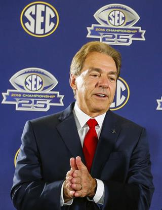 Nick Saban, Jim McElwain