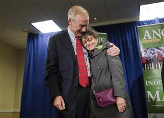 Angus King, Mary Herman