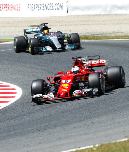APTOPIX Spain F1 GP Auto Racing