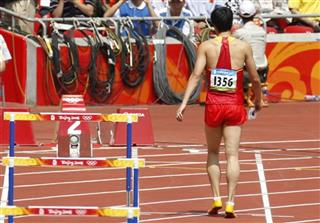London Olympics Athletics Men Liu Xiang