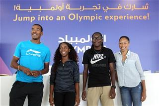 Christian Taylor, Shelly-Ann Fraser, Brittney Reese, Allyson Felix
