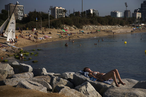 Hot Dusty And On Fire Portugal S Heatwave Breaks Records