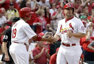 Jon Jay, Matt Holliday