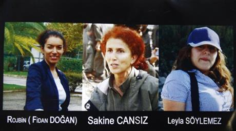 Sakine Cansiz Fidan Dogan Leyla Soylemez