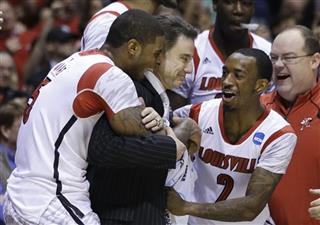 Rick Pitino, Chane Behanan, Russ Smith