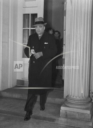 Watchf Associated Press Domestic News  Dist. of Col United States APHS198378 J. Edger Hoover