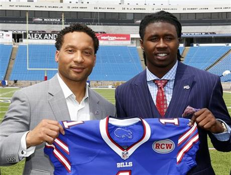 Sammy Watkins,Doug Marrone,Doug Whaley,Russ Brandon