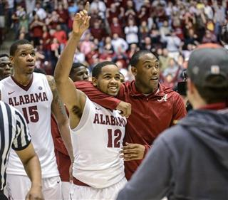 Georgia Alabama Basketball