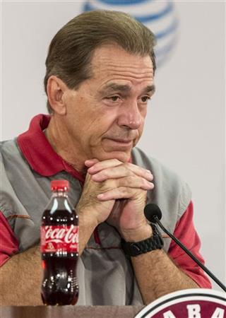 Alabama Saban Football