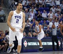 NIT Richmond TCU Basketball
