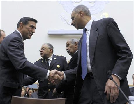 Darryl Issa, Eric Holder