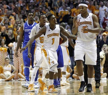 Jarnell Stokes, Josh Richardson, Jordan McRae, Terrence Jones