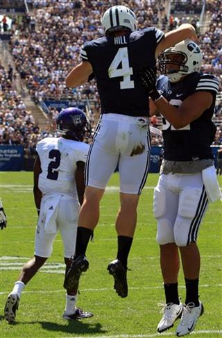 Taysom Hill, Kaneakua Friel, Willie Okwuonu