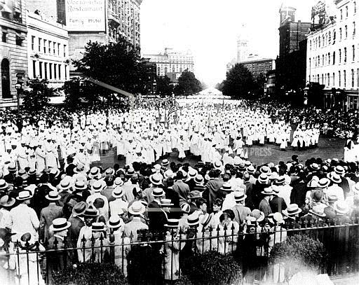 Domestic News Dist. of Columbia United States KKK PARADE 1925