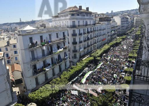 APTOPIX Algeria Protests