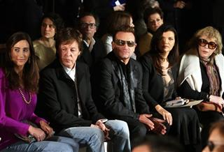 Nancy Shevell, Sir Paul McCartney, Bono, Ali Hewson, Marianne Faithful