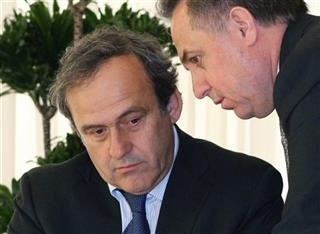 Michel Platini, Vitaly Mutko