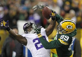 APTOPIX Vikings Packers Football